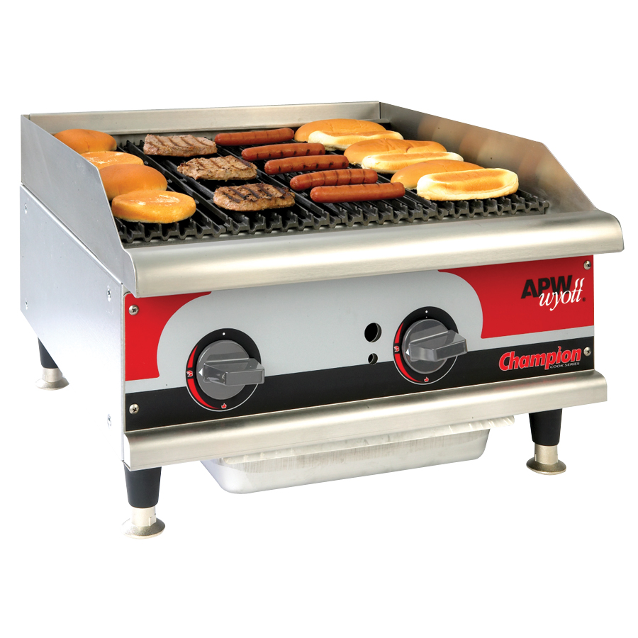 Stoves/Grills :: APW WYOTT Champion Cook Series Grill USED ...